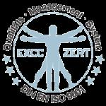 Logo EXCC Zertifizierung DIN EN ISO 9001